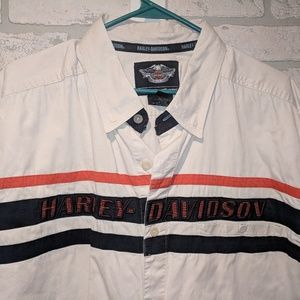 Harley Davidson graphic shirt, 2X